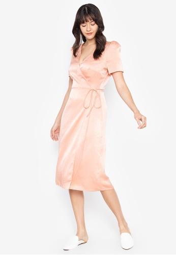 the___edit multi Ellie Wrap Dress 0B1B4AA6640630GS_1