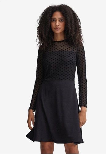 Dorothy Perkins black Jersey Heart 2-In-1 Dress 7A9A1AAB80CCB0GS_1
