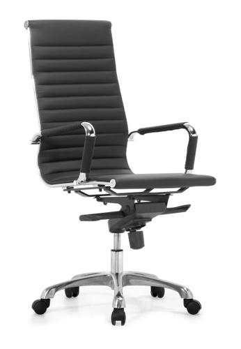 AMERCIS black Amercis Buffon A Leather Office Chair CBD16HLD5325AEGS_1