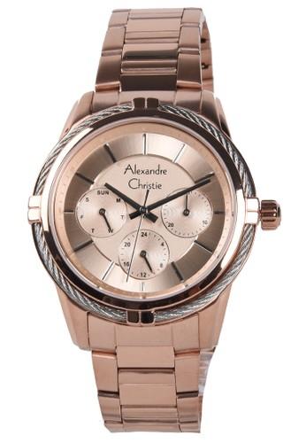 Alexandre Christie gold Alexandre Christie - Jam Tangan Wanita - Rosegold - Stainless Steel Bracelet - 2843BFBRGRG 77331AC46731CFGS_1