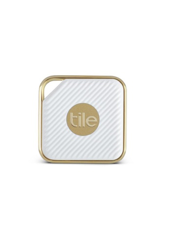 Tile white Tile Pro Series Style Retail 1 Pack - WHITE GOLD BAA64AC3FFC854GS_1