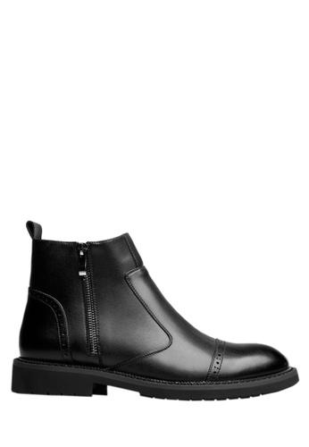 Twenty Eight Shoes black Cow Leathers Classic Ankle Boots VM8016 1DA41SH357A983GS_1