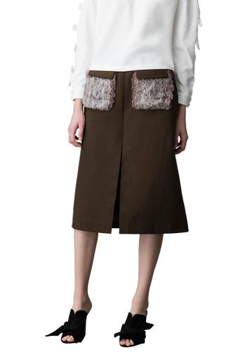 N12H green Harajuku Skirt N1377AA0GQIHSG_1