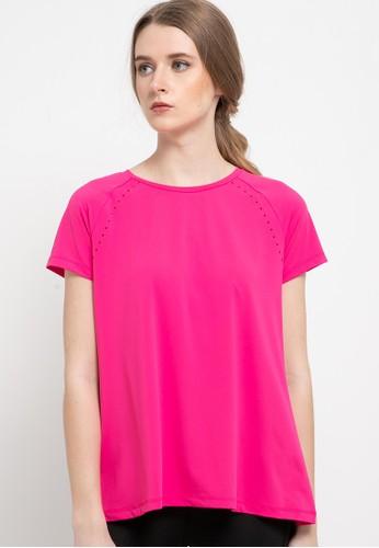 Skechers pink Wmn Duchess Tee 0B460AA404A698GS_1