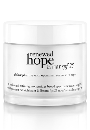 Philosophy white Renewed Hope In A Jar Spf 25 Moisturizer 60Ml PH991BE79NTCPH_1
