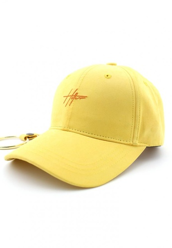 HATER yellow Long Strap D-Ring Cap (Light Yellow) F1A24ACDF5FEE5GS 1 e65ed8d13dc