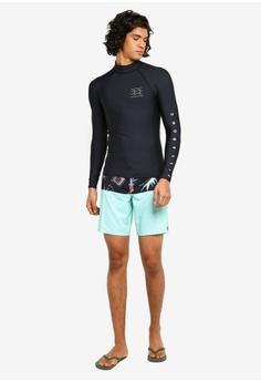 eb20fdc99a Billabong Unity Performance Long Sleeve Rashguard RM 180.00. Sizes S M L XL  · Jack & Jones black Cali Logo Print Swim Shorts A220EAA4052CA8GS_1