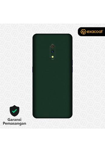 Exacoat Realme X 3M Skins True Colors - Emerald Green 34DE2ES6D6089AGS_1