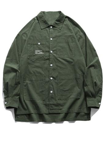 Twenty Eight Shoes Loose-Fitting Pockets Long Shirt HH0897 AE21FAADB81ABCGS_1