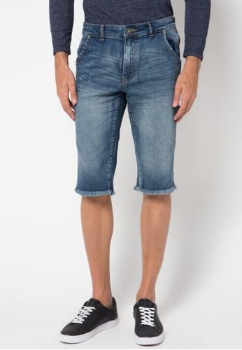 DocDenim blue Men Short Jeans Daxton B5C5AAA183B6F5GS_1