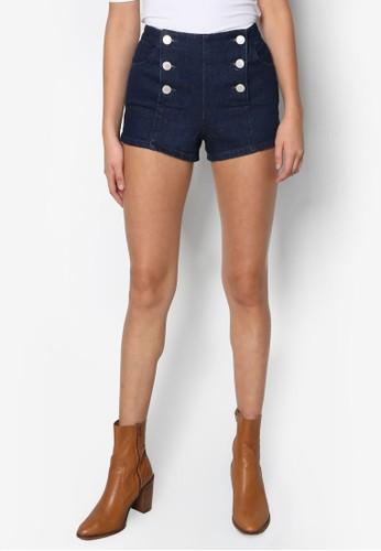 Petite Indigo Sailor Shorts, esprit品牌介绍服飾, 短褲