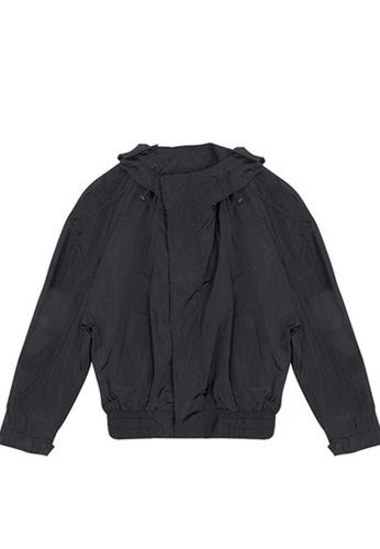 Twenty Eight Shoes black VANSA Solid tone Wind Jacket VCW-T5750 C78FCAA352AD66GS_1