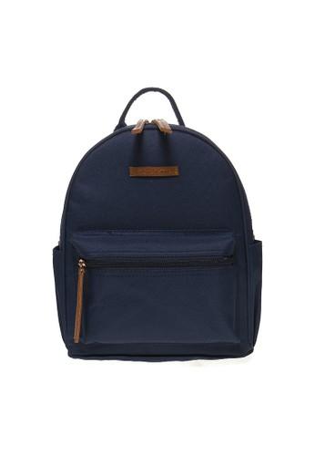 MAYONETTE blue Mayonette Rubi Backpack Canvas - Navy MA831AC45DDYID_1