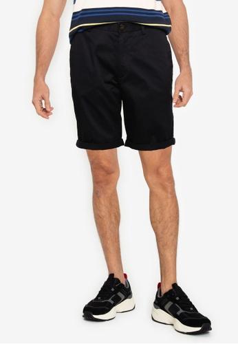 Ben Sherman black Signature Chino Shorts D1963AA54E70D7GS_1