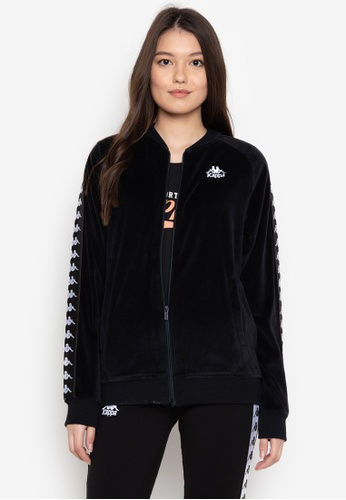 Kappa black Athletic Sweatshirt A8DB5AA8F94613GS_1