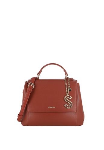 SEMBONIA red Top-Handle Satchel Bag CAD28AC1988B3CGS_1