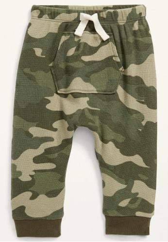 Old Navy green Baby U-Shaped Thermal-Knit Pants 0C767KA9201BE3GS_1