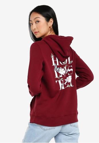 Hollister red Mfm Hoodie 61FCAAAB2D5DAFGS_1