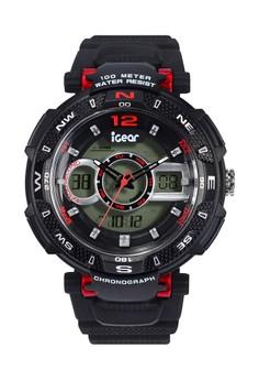 iGear black iGear - I34-1968 - Jam Tangan Digital - Black Red  25836AC904FB45GS 1 97c6bcb24d