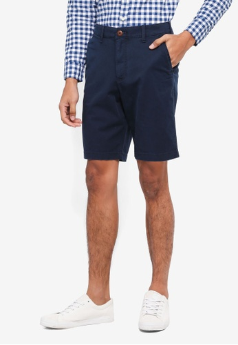 Hollister navy Chino Shorts 9D631AA963987AGS_1