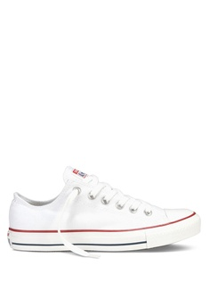 6c1dbbcdecf28f Converse white Chuck Taylor All Star Core Ox Sneakers 1598CSH9F19E84GS 1