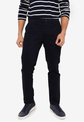 GAP navy Slim Fit Khaki Trousers 71F74AA622D717GS_1
