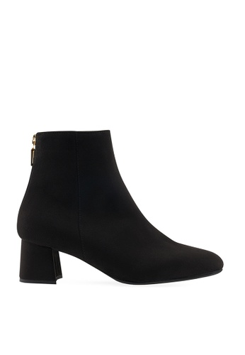 SPUR black SHAPELY ANKLE BOOTS 8666CSHC432F8BGS_1