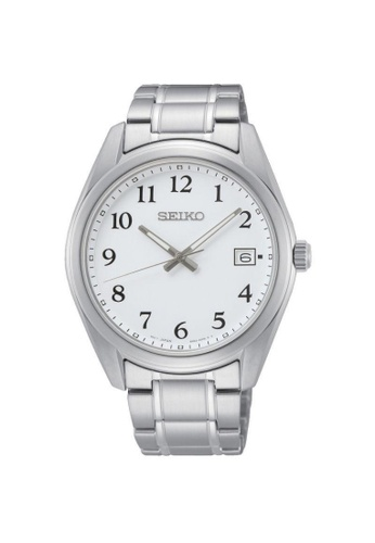 SEIKO silver SEIKO GENERAL CORE SUR459P1 WHITE DIAL MEN'S WATCH FC28EAC9A4AA01GS_1