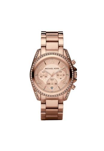 Blair典雅計時腕錶 MK5263, 錶類esprit part time, 時尚型