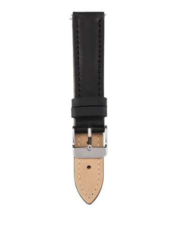 CLUSE black La Boheme Black/Silver Watch Strap CLS010 CL977AC0RDCCMY_1
