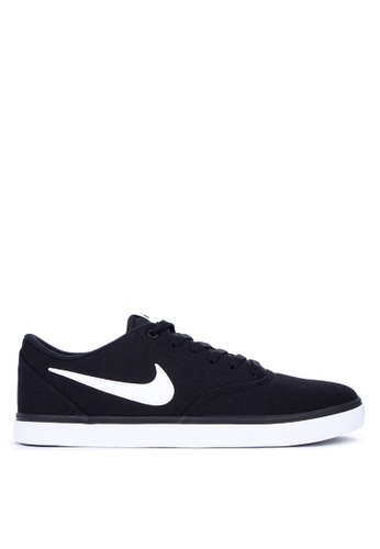 89231bbf Nike black Men's Nike Sb Check Solarsoft Canvas Skateboarding Shoes  7DC3ASHD927DC6GS_1