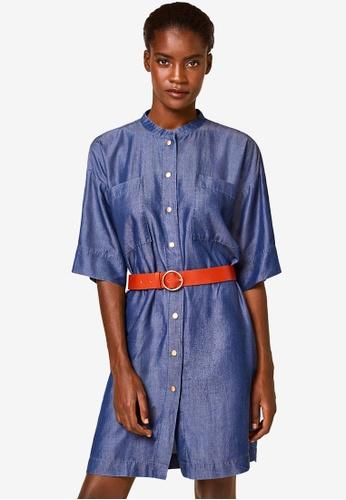ESPRIT blue Denim Midi Dress 8C81CAAA5C4B1AGS_1