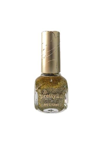 Pretty2u gold Candy Nail Polish-40 PR716BE75QOMMY_1
