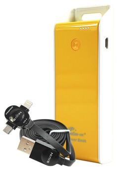 MSM.HK 6800mAh PowerBank With FREE Bavin 2-in-1 Intelligent Lightning Data Cable