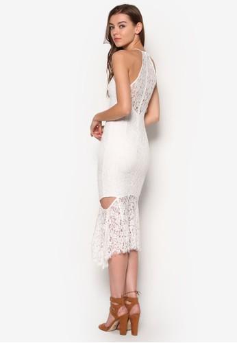 Sienesprit outlet 台灣na 鏤空蕾絲連身裙, 服飾, 洋裝