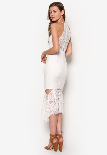 Siesprit台灣門市enna 鏤空蕾絲連身裙, 服飾, 洋裝