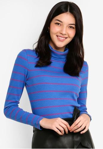 ESPRIT blue Long Sleeve Sweater 8672AAA9E9DDE3GS_1