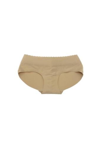 Kiss & Tell beige Butt Panties in Nude 0B9A3US0882DD7GS_1