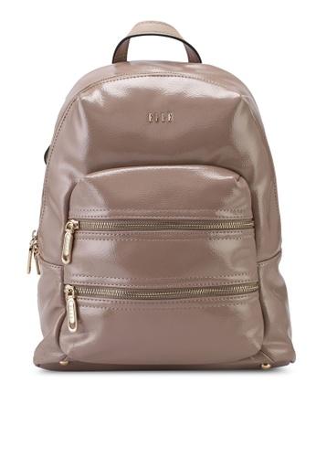 ELLE brown Meghann Backpack 2832BAC9FC48F1GS_1