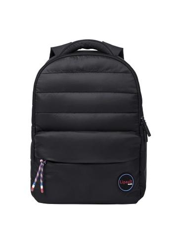 Lipault black Lipault Snowflake Backpack 64186AC0BB3656GS_1