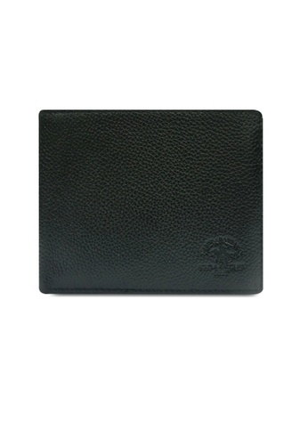 Santa Barbara Polo & Racquet Club black Santa Barbara Leather Classic Bifold Wallet SA678AC0GNOBSG_1