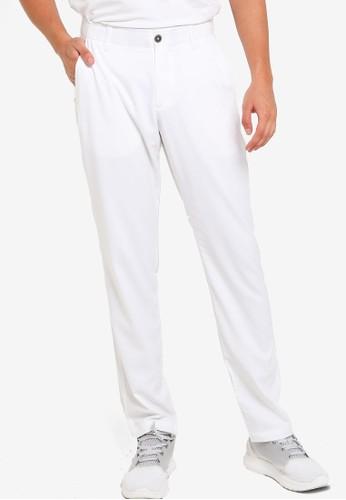 Under Armour white UA Showdown Taper Pants 7F031AAA922C84GS_1