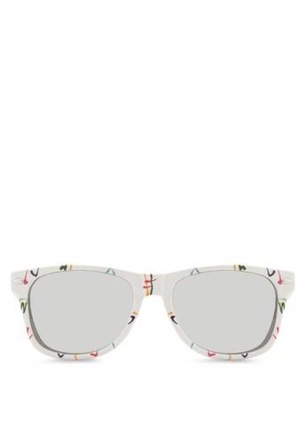 SASHA 印花鏡框太陽眼鏡, 飾品配件,esprit台灣網頁 飾品配件