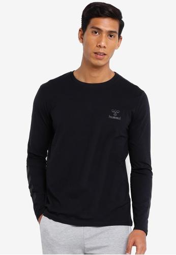 Hummel black Hummel Sigge Long Sleeve T-Shirt 23050AAFC12040GS_1