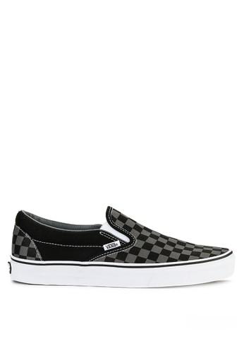 Vans black Ua Classic Slip-On 782BDSH3509C6EGS_1