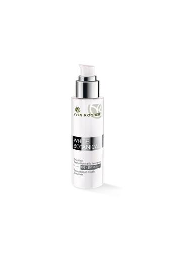 Yves Rocher white White Botanical Youth Emulsion SPF30 Pump Bottle -50ml YV460BE67LJCSG_1