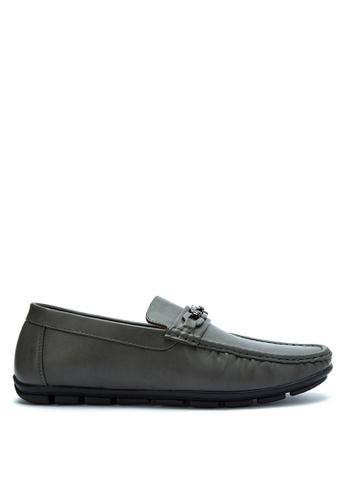 H2Ocean grey Nazario Loafers & Moccasins H2527SH0KFK7PH_1