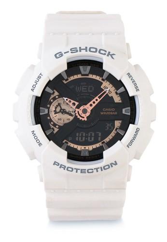 Jual G-Shock Casio G-SHOCK Jam Tangan Pria - White Black - Resin ... e8c15ac10b
