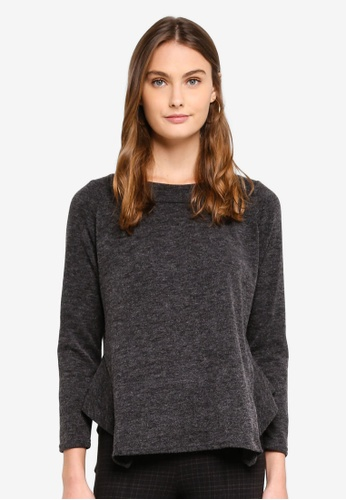 OVS grey Long Sleeve T-Shirt DB168AACE634AAGS_1