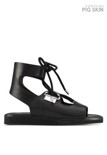 E8 by Miista black Avoca Sandals E8283SH0STI0MY_1